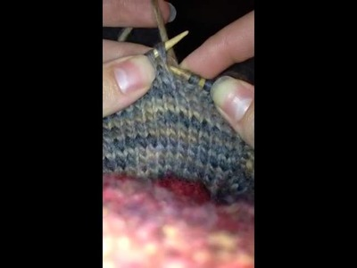 How to knit a gusset for longies