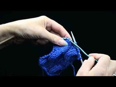 How to Knit Cables Part 1   k1p1 TV
