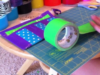 How to Make a Duct Tape Clutch
