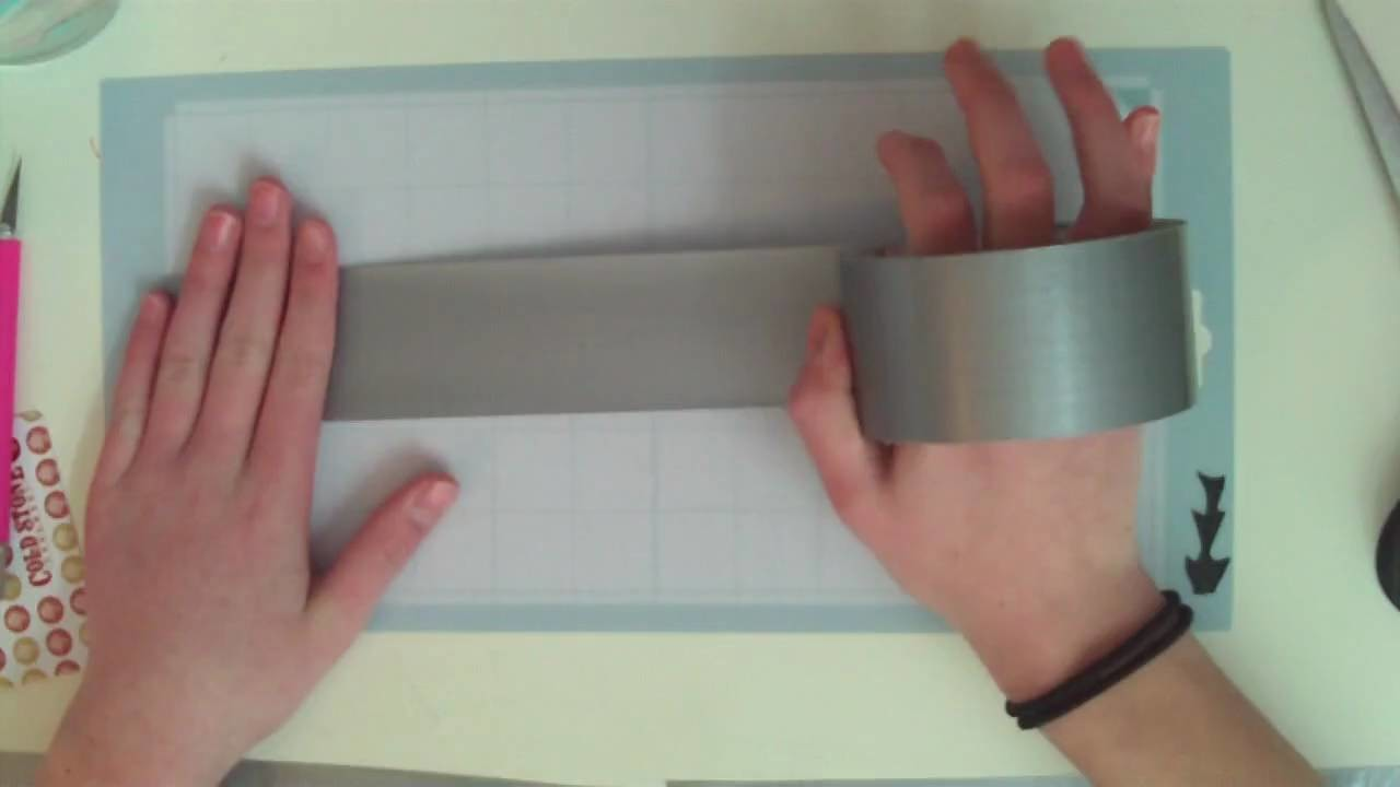 How to make a duct tape wallet: part 1
