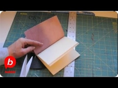 How to Make a Leather Journal | Crafts | Babble