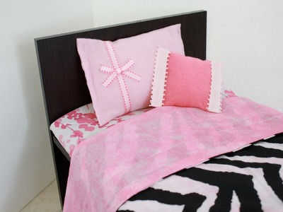 How to Make a Wooden 18 inch Doll Bed for about $10.00 : Plus Bunk Beds