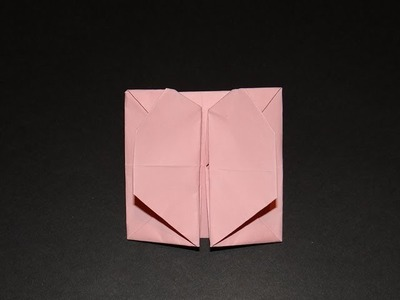 How To Make An Origami Pop Out (Heart) Envelope - Box 01