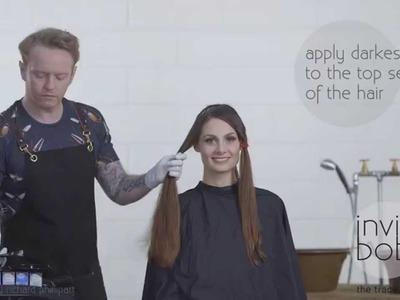 Invisibobble DIY hair tutorial: ombré blend