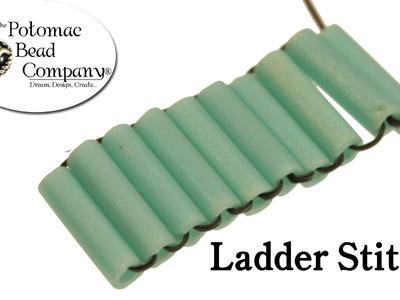 Ladder Stitch Beadweaving Instructions