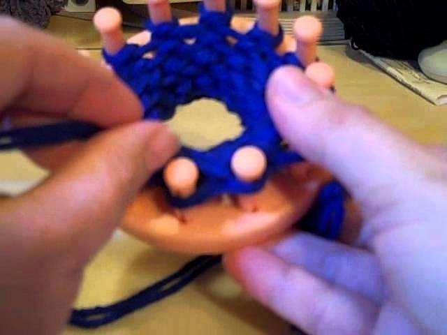 Loom Knit Ribbing (Stretchy) Bind Off