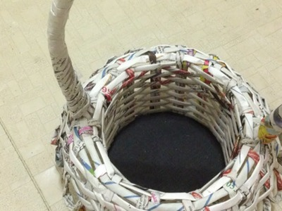 Make a Small Newspaper Basket - Home - Guidecentral