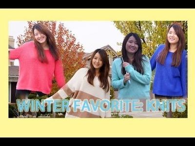 My Favorite Winter Fashion Essentials: Knits ft. leCLARA