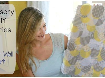 Nursery DIY Series w. Project Nursery Circle Tissue Wall Art