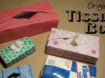 Origami Tissue Box by Paul Ee
