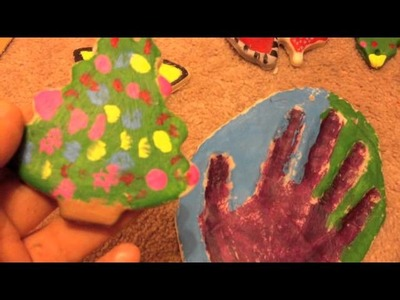 Painting Homemade Decorations With Maya ♡ Theeasydiy #Crafty