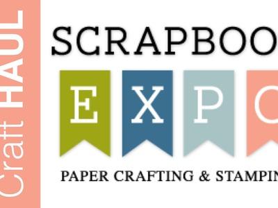 Scrapbook Expo Haul | March 2015