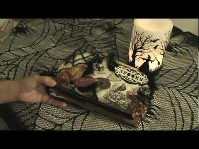 Scrapbook Mini Album: Halloween Spooky Mini