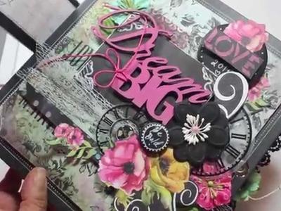 Scrapbooking NEW Dream Big Mini Album Kit Mar 2014