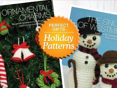 Shop: Nattypat Holiday Crochet Patterns Christmas 2012