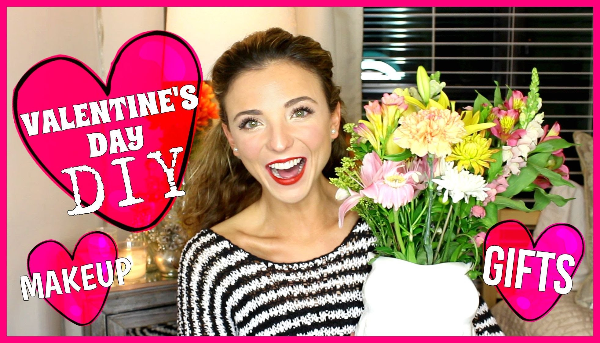 VALENTINE'S DAY IDEAS, DIY, GIFTS, & MAKEUP!