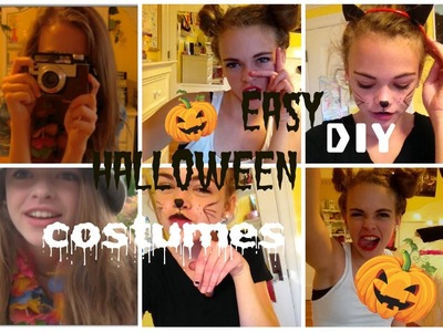 3 Easy DIY Halloween Costumes!