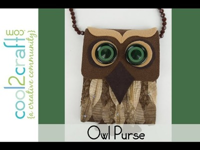 Aleene's Eco Chic Owl Purse by EcoHeidi Borchers