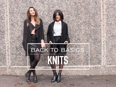 Back to Basics: Knits