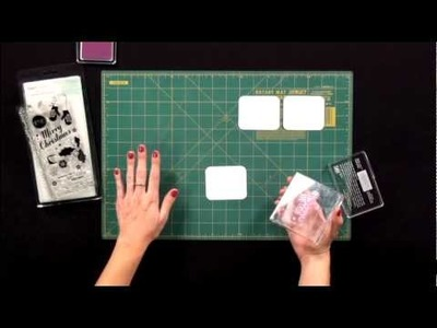 Batch Stamping demo by American Crafts - Craft Room