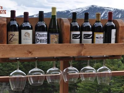Building a DIY  Wine Rack | Wood Stain & Polyurethane | Minwax