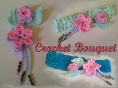 Crochet for Beginners: Crochet Flower Bouquet