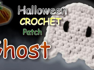 Crochet Ghost Applique Pattern Tutorial