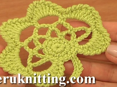 Crochet Leaf Pattern Tutorial 30 Easy Crochet Irish Leaf Motif