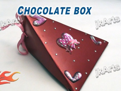 DIY Chocolate Box - Valentine's Day Gift Idea - JK Arts 266