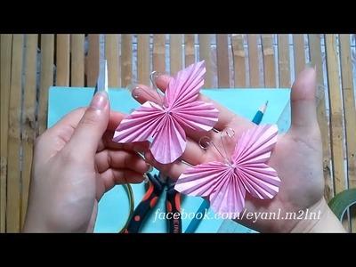 DIY crafts Paper BUTTERFLIES (very EASY)