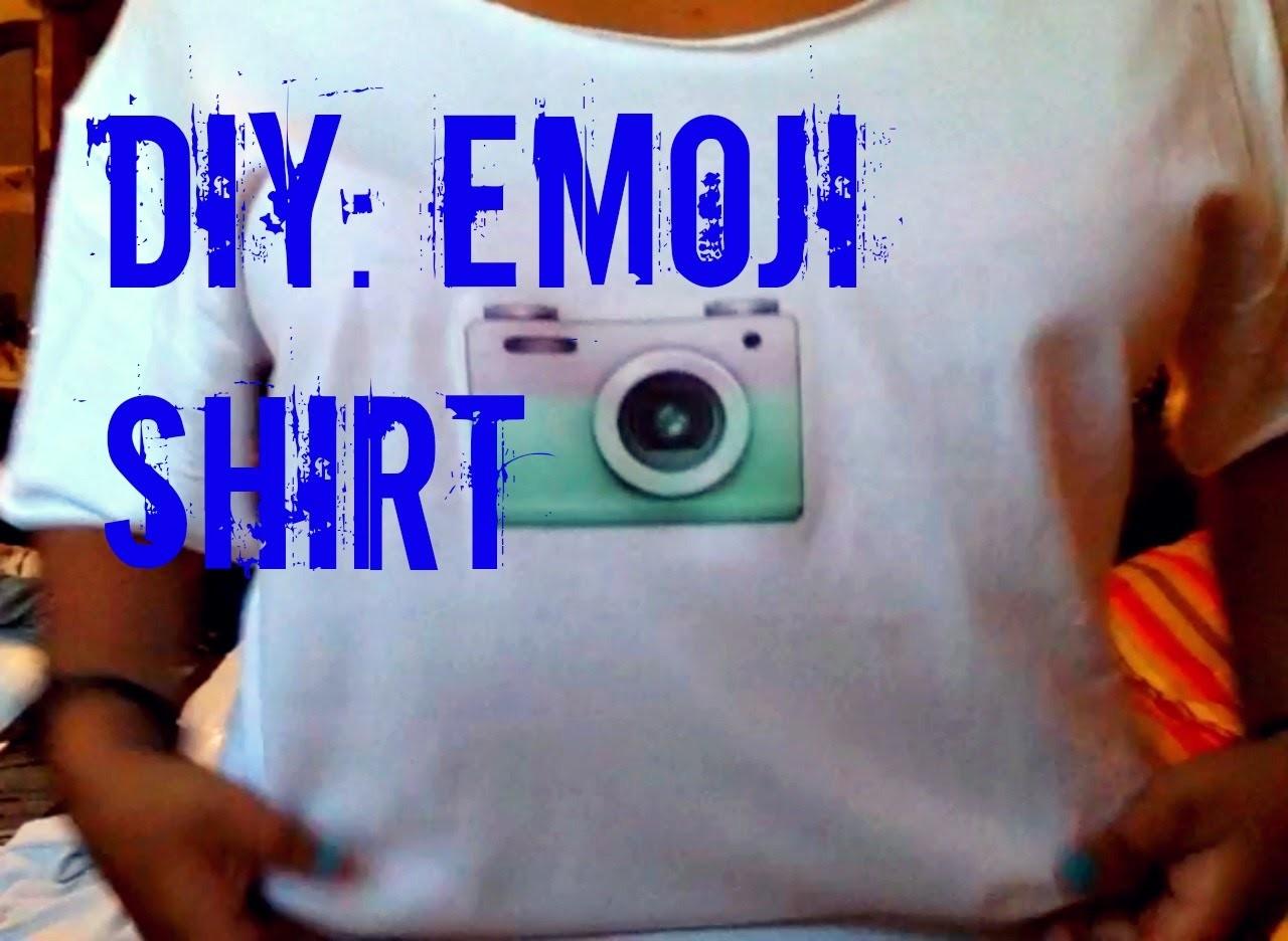 DIY Emoji Shirt!