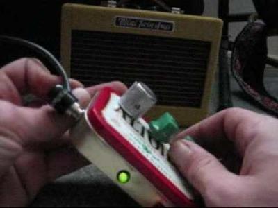 DIY Guitar Effects Pedal Demo - Atari Punk Console