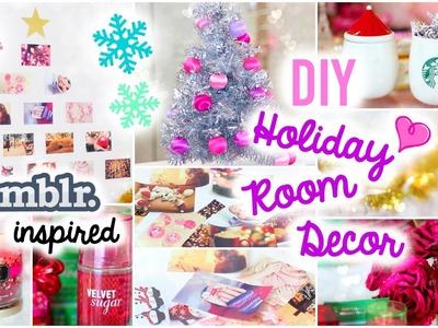 DIY Holiday Room Decor ♡ Easy & Simple Ideas!