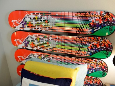DIY: How to Build a Toy Snowboard Headboard