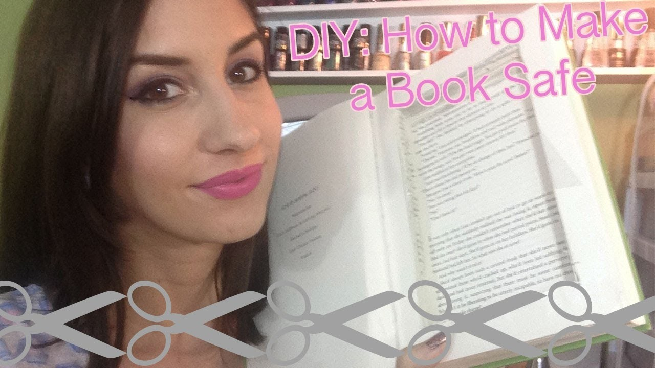 DIY: How to Make a Book Safe.  Easy Gift!