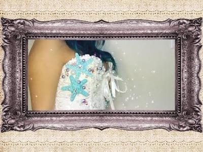 DIY- Mermaid Corset- Costume Idea