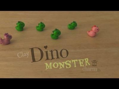 DIY: Polymer Clay DINO MONSTER