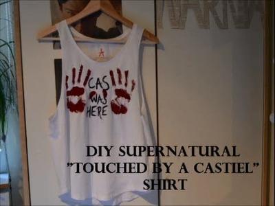 DIY Supernatural shirt