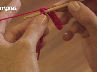 Double Crochet Stitch- Deramores Crochet Tutorial