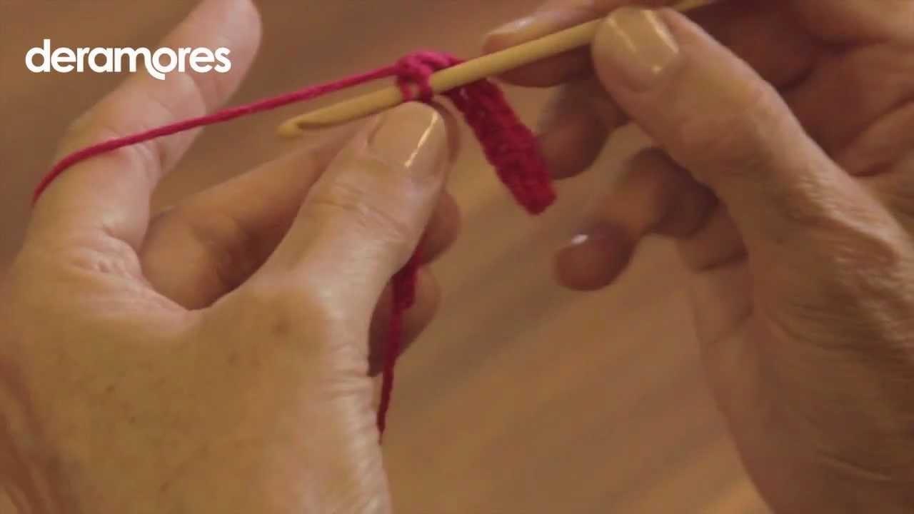 Double Crochet Stitch- Deramores Crochet Tutorial