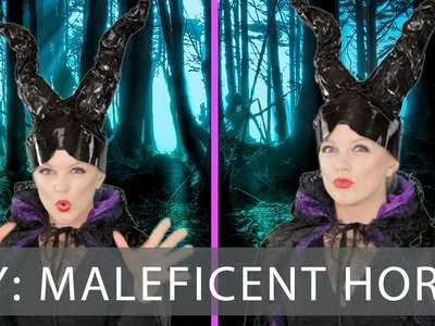 Easy DIY Halloween Costume Maleficent Horns