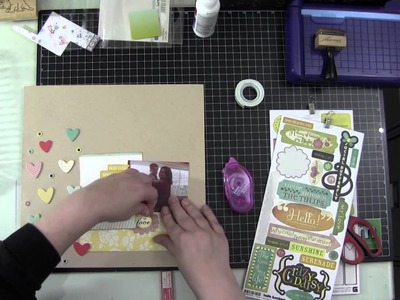 Fast Forward Friday: Scrapbook Process Video: Arms Full of Love