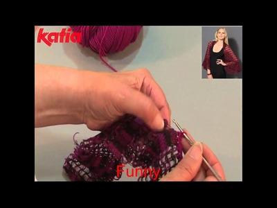 Funny (Joining using crochet chain.Unión a ganchillo cadenetas)