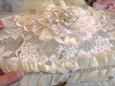 GDT Project for DIY Boutique Supply - Shabby Chic Altered Purse Night Light