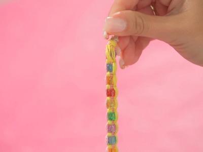 How to Add Beads to Friendship Bracelet   Bracelet Patterns