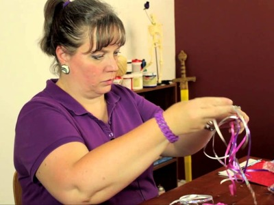 How to Decorate Bubble Wands With Ribbons : Bows & Craft Tips