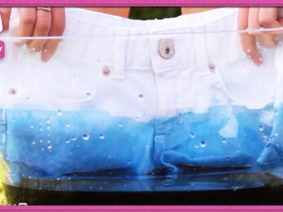 How to Dip Dye and Make Ombre Shorts! - 2 DIY For Ep 24