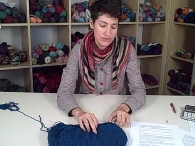 How to Knit a Sweater - Lesson 3 (Part 2 of 2)
