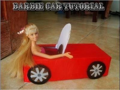 How to Make a Barbie Car Tutorial