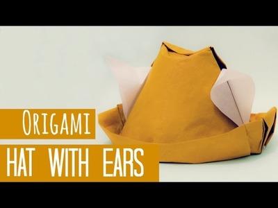 How to make an origami Hat with Ears (Gerardo Gacharná)